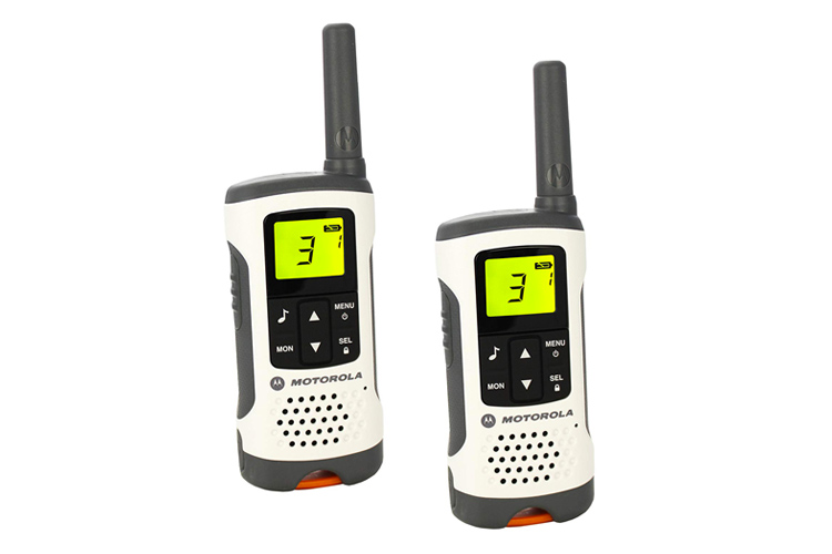 talkie-walkie Motorola T50 test